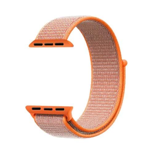 Apple Watch Series 4 & 5 bandje – 40mm – Nylon – Oranje