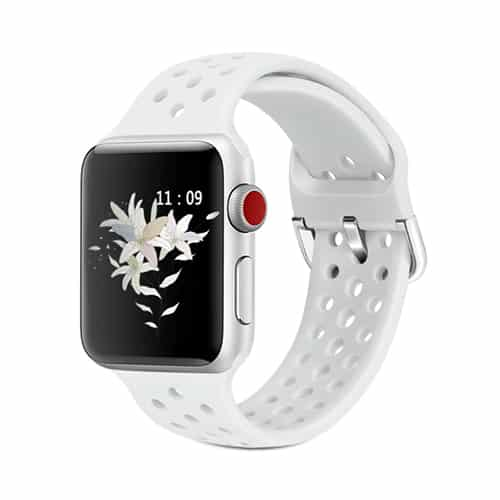 Apple Watch Series 4 & 5 - 44mm - Rubber - Wit