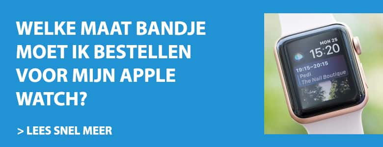 welke maat apple watch