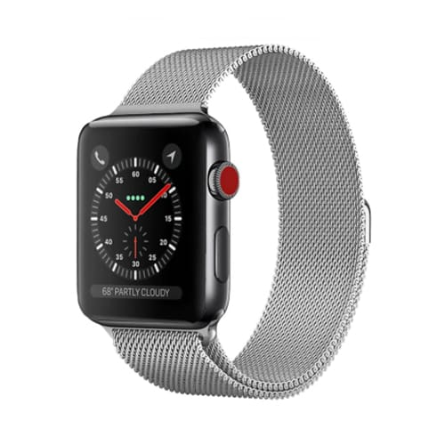 Apple Watch Series 4 & 5 - 44mm - Milanees - Zilver