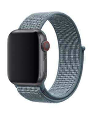 Apple Watch Series 4 & 5 - 44mm - Nylon - Blauw
